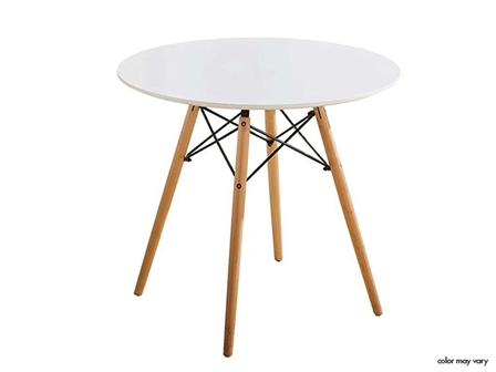 Designer Table ST-007 80cm White