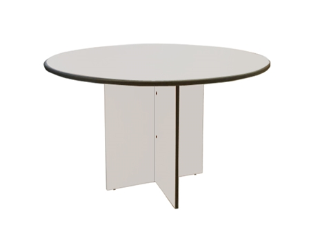 Conference Table Round UP2031-M3 Gray