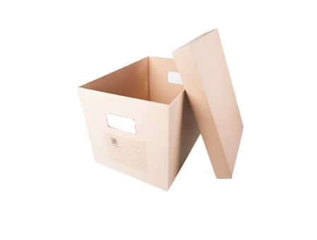 Office Warehouse  Storage Box w/Lid  Kraft 16 x 11 x 11
