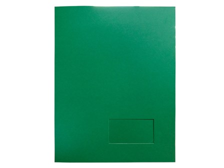 Star Paper Folder Presentation Green Letter