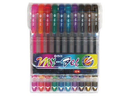 Dong-A Gelpen My Gel 10 pcs Assorted 0.5