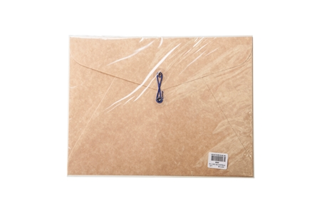 Click Envelope Document 003 w/ String Kraft 9 x 12 5/pack
