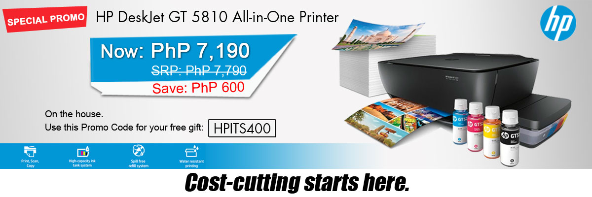 HP PRINTER GT5810 AIO